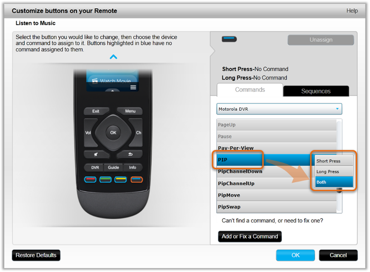 how to add devices to harmony remote