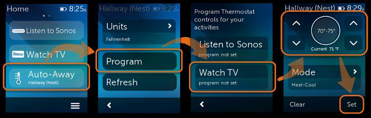 Nest programming on Ultimate