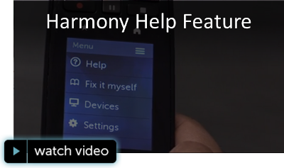 Harmony Help Feature